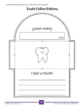 Lost Tooth Bulletin Board
