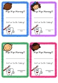 Lost Tooth Certificates **FREEBIE**