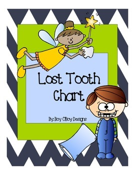Lost Tooth Chart