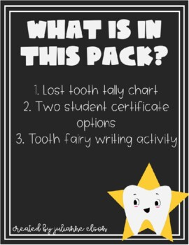 Lost Tooth Club Pack