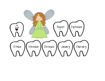 Lost Tooth Club Tooth Fairy Chart