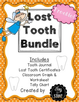 Lost Tooth Graph Freebie