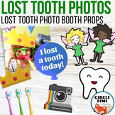 Lost Tooth Photo Booth Props, Photo Props Lose a Tooth Los