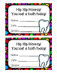 Lost Tooth Printables