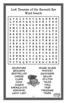 Lost Treasure of the Emerald Eye (Geronimo Stilton) Novel Study / Comprehension