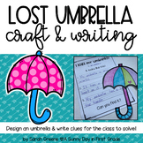 Lost Umbrella Craft & Writing!