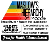 Lost and Afraid- Teaching Maslow's Hierarchy of Needs-(Dis