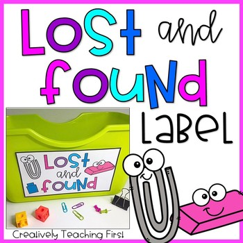 Lost and Found Label