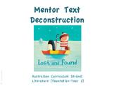 Mentor Text Deconstruction