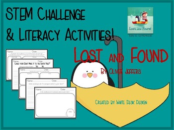 Lost and Found STEM & Literacy Activities