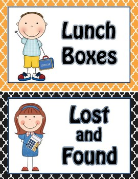 Lost and Found Signs