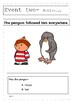 Lost and Found by Oliver Jeffers Comprehension Exercise and Sequence of Events