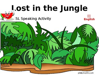 Lost in the Jungle ESL Speaking