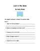 Lost in the Snow By Holly Webb Comprehension Packet