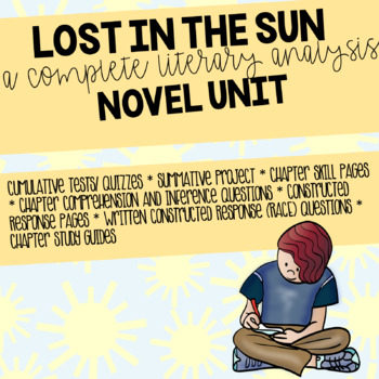 Lost in the Sun Novel Unit and INB pages