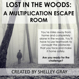 Lost in the Woods: A Multiplication Escape Room Activity |
