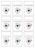 Lost tooth card