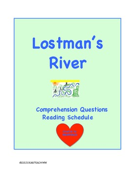 Lostman's River Comprehension  Text Dependent Questions