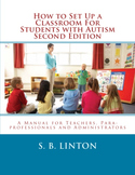 HARD COPY - Lot of 25 How to Set Up a Classroom for Students with Autism Book