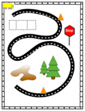 SET of 6 fine motor Playdoh Mats - occupational therapy ha