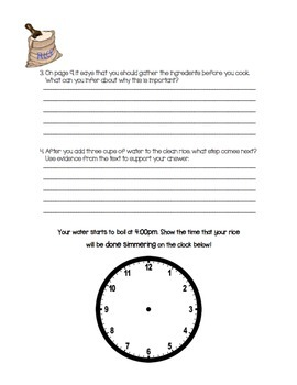 """Lot of Guided Reading """"How-To"""" Procedural Question Packet"""