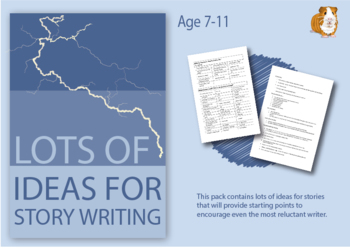Lot's Of Ideas For Story Writing (7-11 years)