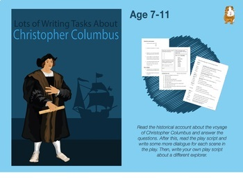 Lot's Of Writing Tasks About Christopher Columbus  (7-11 years)