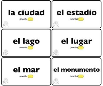 Lotería En las Vacaciones (35 boards) Spanish