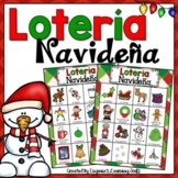 La Navidad, Christmas Activity in Spanish: Lotería Navideña