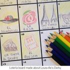 Sub Plan / Homework - Lotería