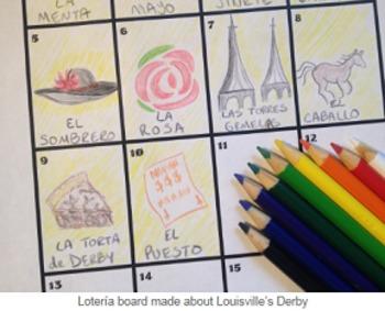 Lotería Sub/Homework Lesson