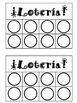 Lotería para colorear -- Colors Lotto Boards in Spanish to Color