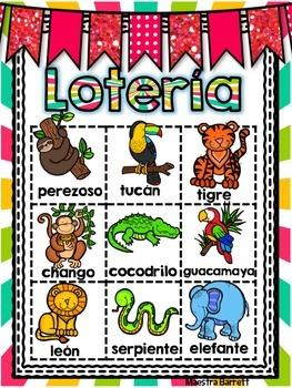 Lotería/Loteria Animales
