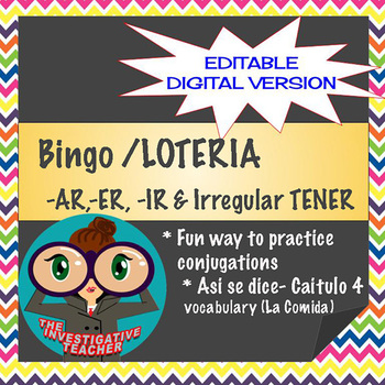 Tener Conjugation Worksheets & Teaching Resources | TpT