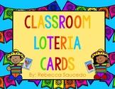 Loteria Classroom Oracy Cards Decor