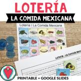 Spanish Bingo Game - Loteria - Mexican Food - Hispanic Her