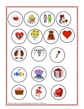 Lotería de San Valentín-Valentine Cut and Paste Bingo in Spanish!