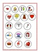 Lotería de San Valentín-Valentine Cut and Paste Bingo in Spanish!