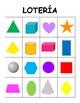Lotería de las Figuras 2D y 3D