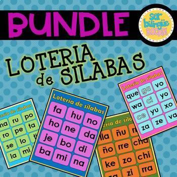 Silabas - Loteria Compra los cuatro y ahorra