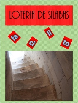 Spanish Loteria de silabas (Bundle)