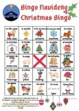 Loteria navidena/christmas bingo BILINGUAL Spanish English