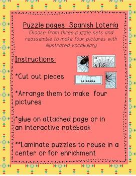 Loteria puzzles