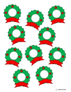 """""""Lots-O-Dots"""" on Christmas Wreaths for Autism"""