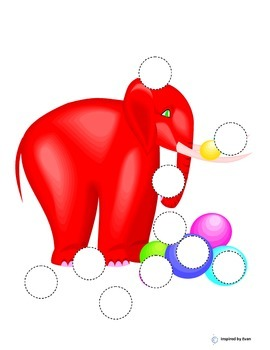 """Lots-O-Dots"" on Elephants for Autism"