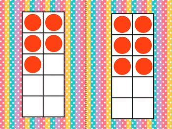Lots O' Dots ten Frames Packet
