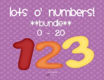 Lots O' Numbers Bundle! (0 - 20)