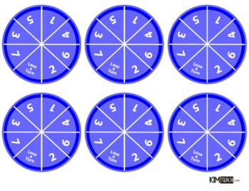 image regarding Printable Spinner named Loads O Spinners - Cost-free Printable Spinners