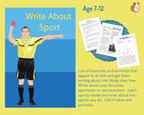 Lots Of Writing Prompts About Sport (7-11 years)