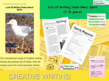 Lots Of Writing Tasks About Sport (7-11 years)